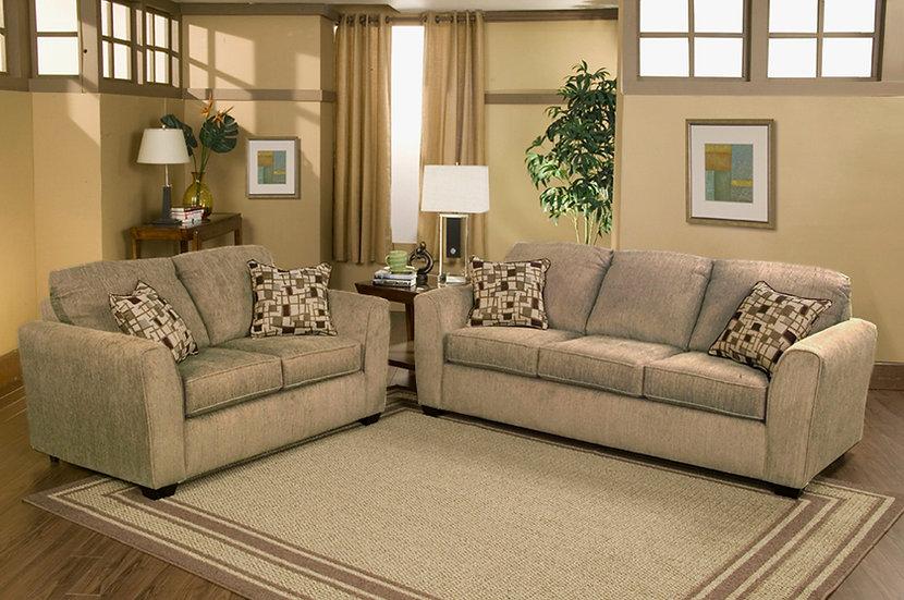 Ariana I Fabric Sofa Set