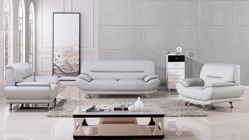 Brooke Gray Sofa Set