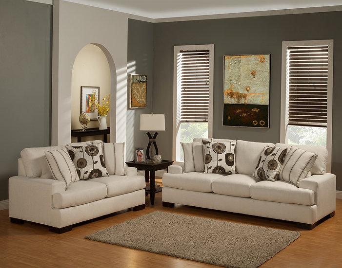 Danda Fabric Sofa Set