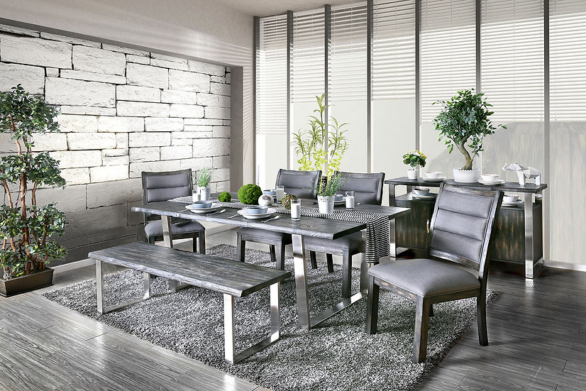 Bankhead Rustic-Styled Dining Set