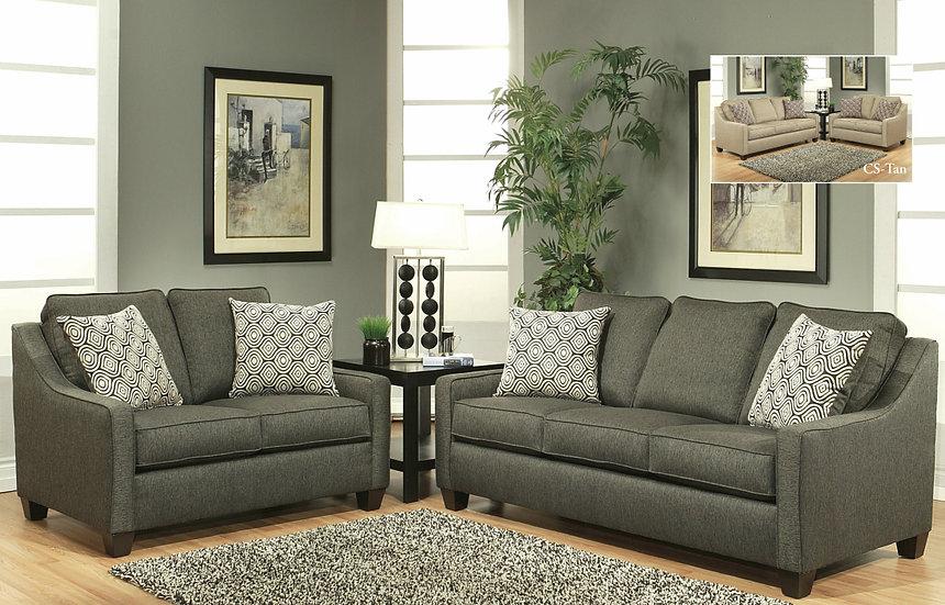 Alambre Fabric Sofa Set