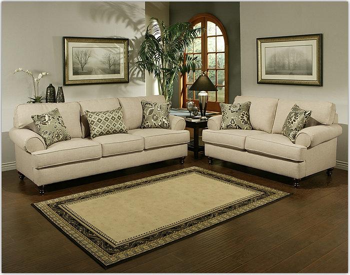 Kiefer Fabric Sofa Set