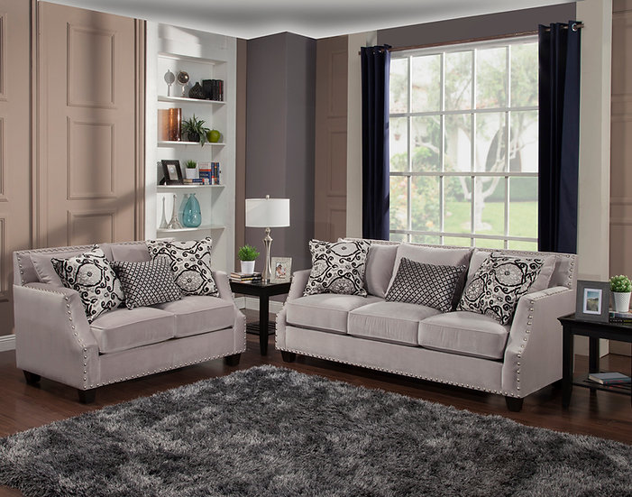 Othello III Fabric Sofa Set