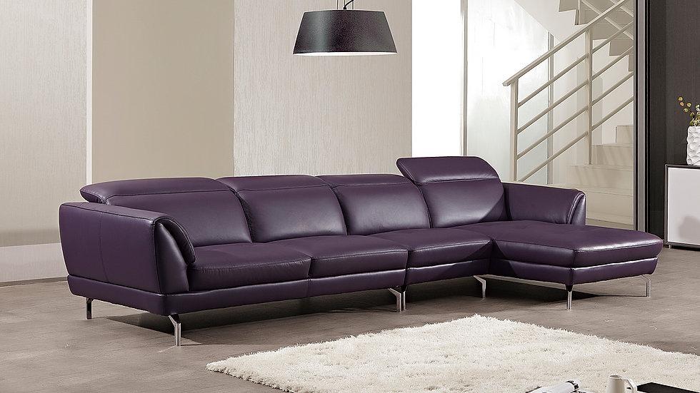Rivoli II Leather Sectional