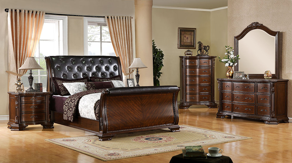 Rococco King Bedroom Set