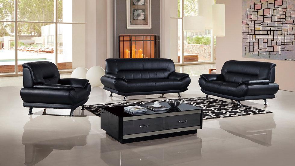 Evins Place Genuine Leather Sofa Set