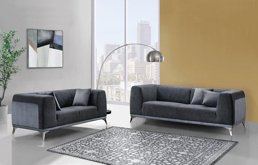 2pc Sofa Set