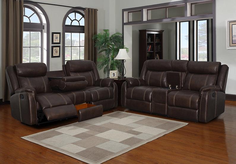 Jacalin Reclining Sofa Set