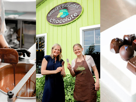 12 Metric Tons Of Chocolate Rolls Into Town To Support Growth Of Grocer's Daughter Chocolate