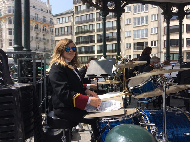 Ostend, Belgium with Sleaford Concert Band, May 2018.