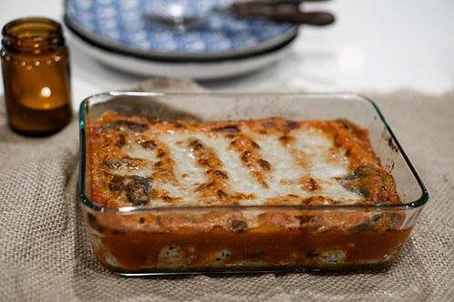 Low carb Eggplant Palmini Lasagna