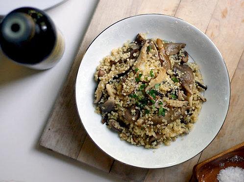 Wild Mushroom Quinoa