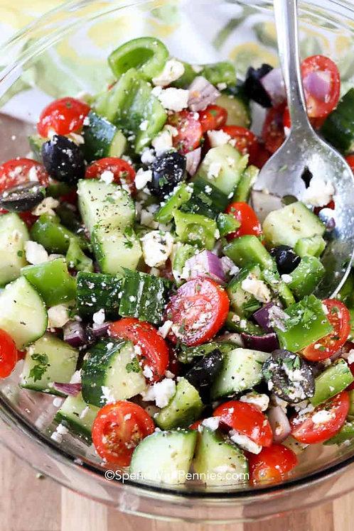 Greek Salad w/ Feta Cheese