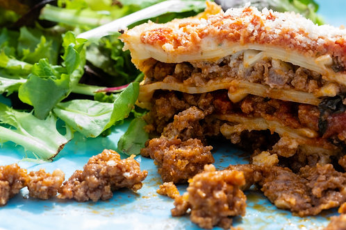 Ground Beef Lasagna  Small/ Large