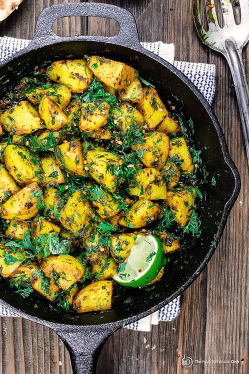 Mediterranean Herbed Potatoes