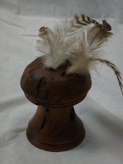 Cherry Laurel Feather Vase