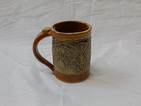 Large Peacock Mugs