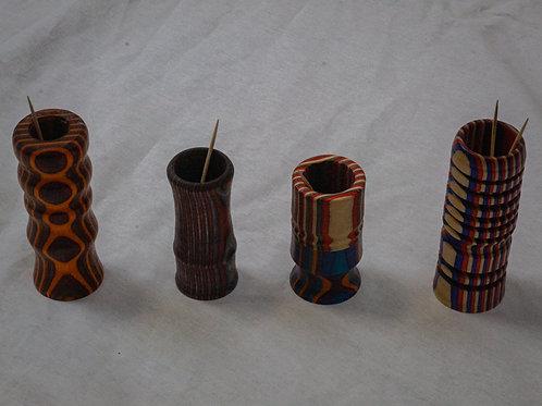 Wooden Toothpick Holders