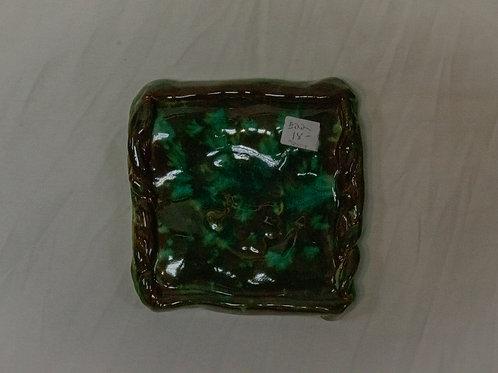 Green Soap Dish