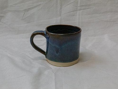 Medium Blue Mug with White Base