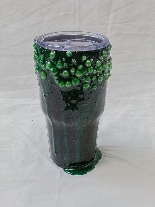 Green Bubbles Tumbler