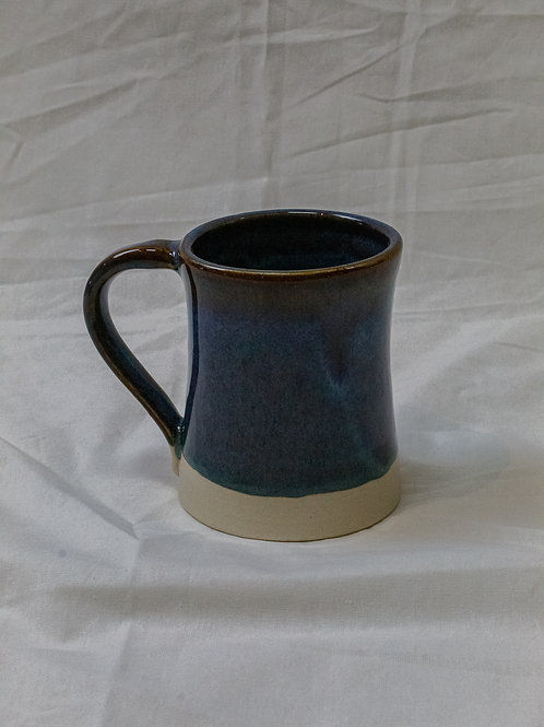 Blue Mug with White Base