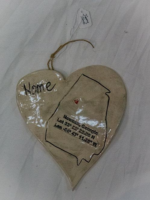 """Newnan Home"" Heart"