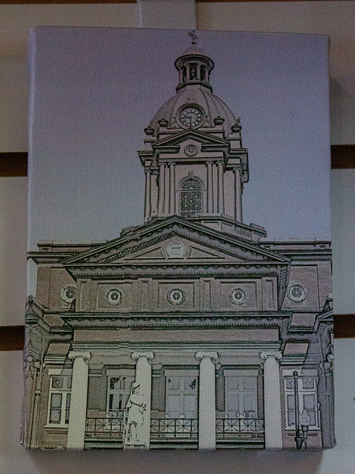 Newnan Square Sketch Canvas