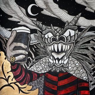 Mural para El Amansa Guapo PUB PANAMEÑO
