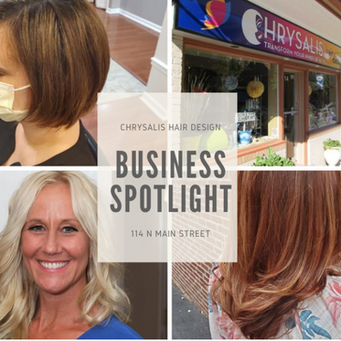 Chrysalis Hair Design Business Spotlight