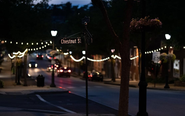 Chestnut Street Cafe Lights
