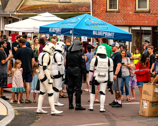 Garrison Carida - volunteer Stormtroopers