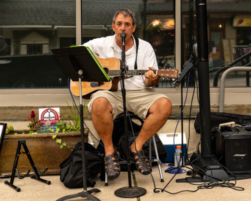 Live music with Rick P!