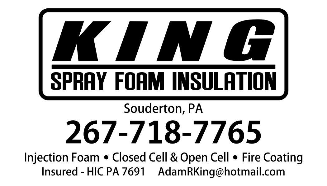 Adam King Spray Foam