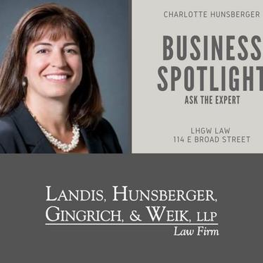 Landis, Hunsberger, Gingrich, & Weik Law Firm Business Spotlight