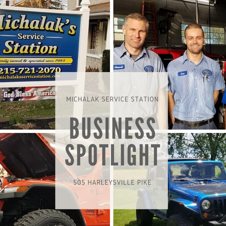 Michalak's Service Station Business Spotlight