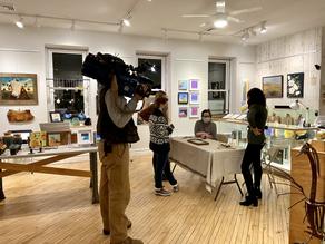 PHL 17 At Exhibit B Gallery with HMB Studios