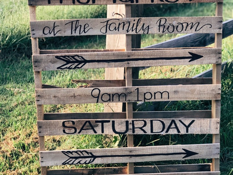 The Countdown to The Market at The Family Room is on!