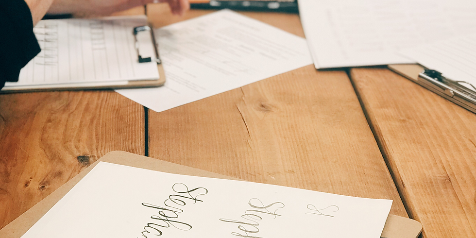 Handlettering 101 with The Woodsmith Family