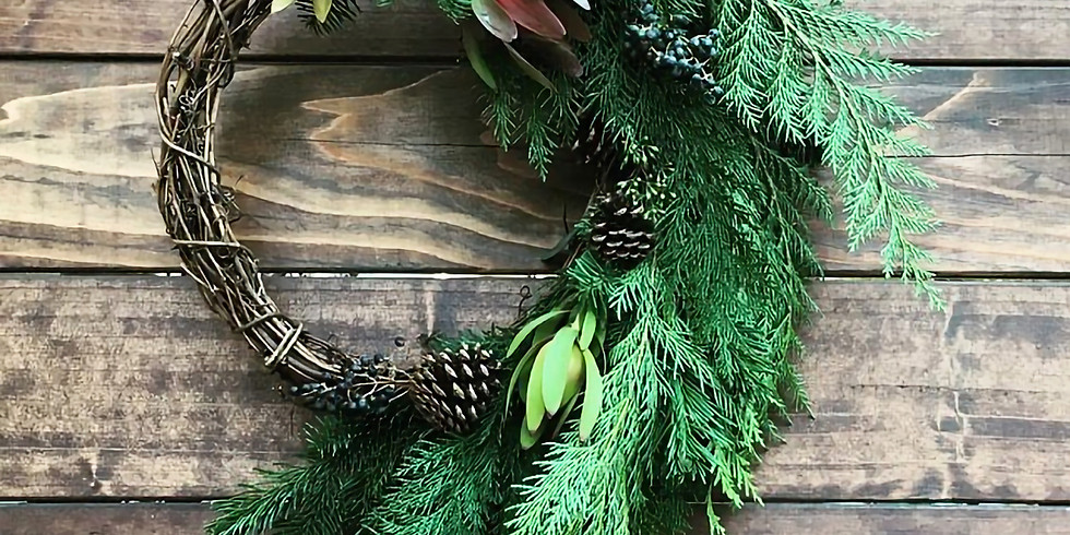 Holiday Wreath Workshop - Session 2