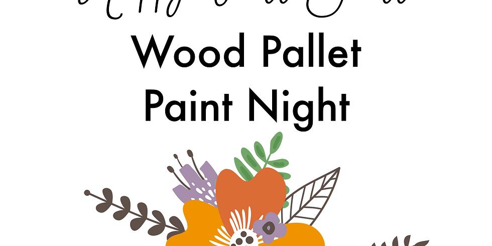 """Happy Fall Y'all"" - Wood Paint Night"