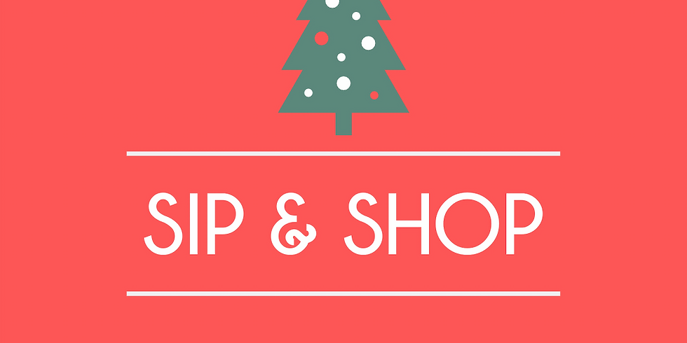 Early Bird Holiday Sip and Shop