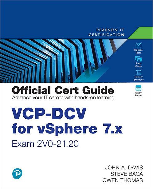 VCP-DCV for vSphere 7.x (Exam 2V0-21.20) Official Cert Guide, 4th Ed