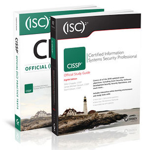 (ISC)2 CISSP Certified Information Systems Security Prof Bundle