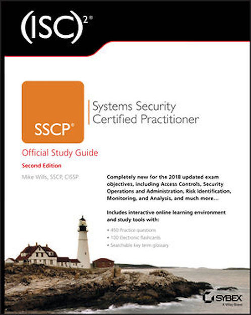 (ISC)2 SSCP Systems Security Certified Practitioner Official Study Guide, 2nd Ed