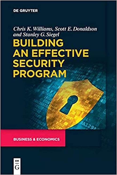 Building an Effective Security Program