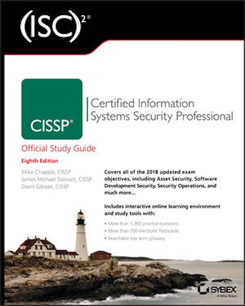 (ISC)2 CISSP Certified Information Systems Security Prof SG 8E