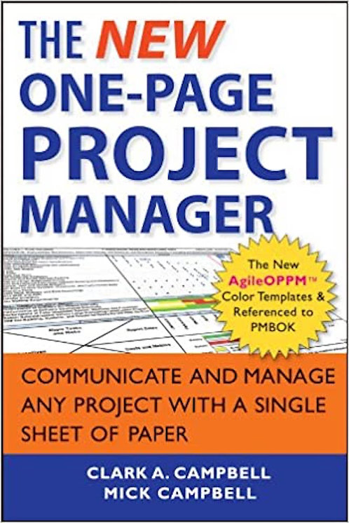 The New One-Page Project Manager