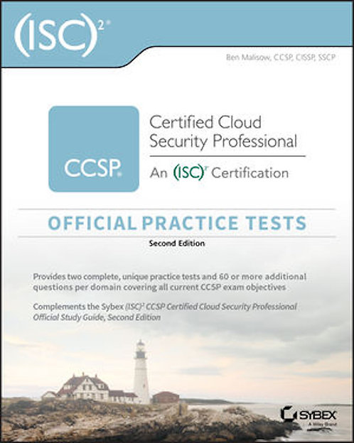 (ISC)2 CCSP Certified Cloud Security Prof Official Practice Tests, 2E