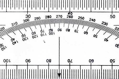 See-thru Protractor Ruler